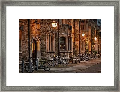 Princeton University Campus Framed Print