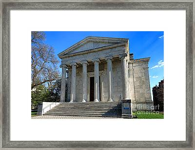 Princeton University Clio Hall  Framed Print by Olivier Le Queinec