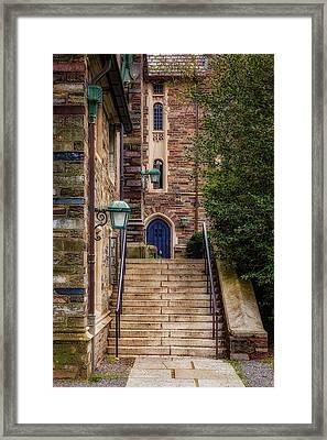 Princeton University Dorms Framed Print