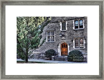 Princeton University Little Hall Framed Print by Olivier Le Queinec
