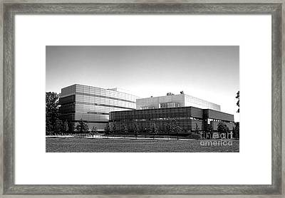 Princeton University Neuroscience Institute And Peretsman Scully Framed Print by Olivier Le Queinec