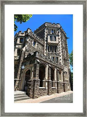 Princeton University Patton Hall Framed Print by Olivier Le Queinec