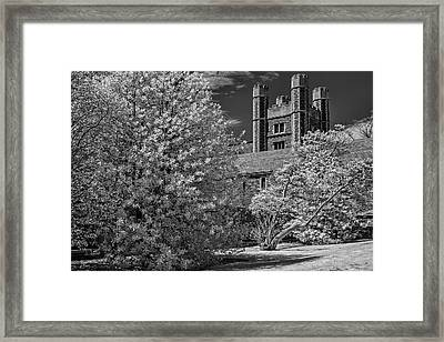 Framed Print featuring the photograph Princeton University Buyers Hall by Susan Candelario