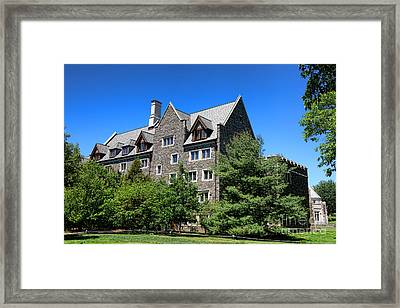 Princeton University Whitman College 1981 Hall Framed Print by Olivier Le Queinec