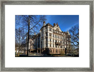 Princeton University Witherspoon Hall  Framed Print by Olivier Le Queinec