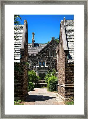 Princeton University Wright Hall Framed Print by Olivier Le Queinec