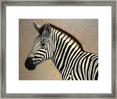 Principled Framed Print by James W Johnson