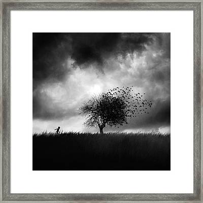 Printemps Perdu Framed Print by Sebastien Del Grosso