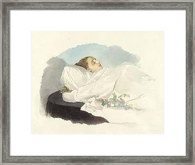 Prinzessin Von Bourbon Sizilien Framed Print by MotionAge Designs