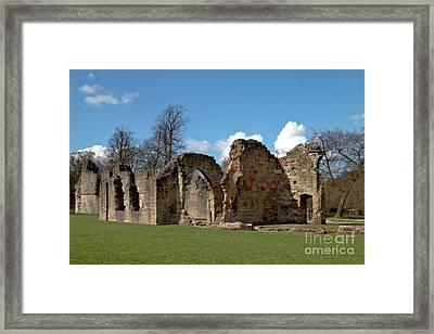 Priory Ruins Framed Print