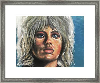 Pris Framed Print by Seamas Culligan