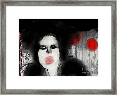 Priscilla  Queen Of The Night Framed Print by Rc Rcd