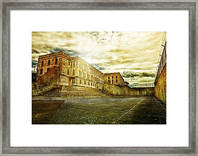 Prision Break Framed Print by Camille Lopez