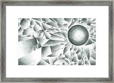 Prismatic Eclipse Framed Print by Ty DAvila