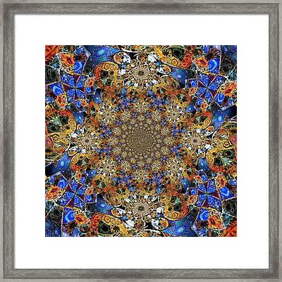Prismatic Glasswork Framed Print