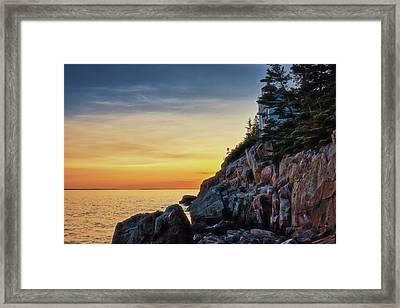 Prismatic Sunset Framed Print by Zev Steinhardt