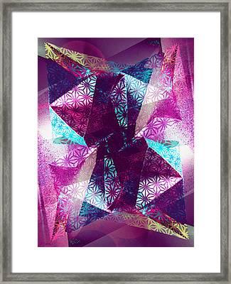 Prismatic Vision - Darker Version Framed Print