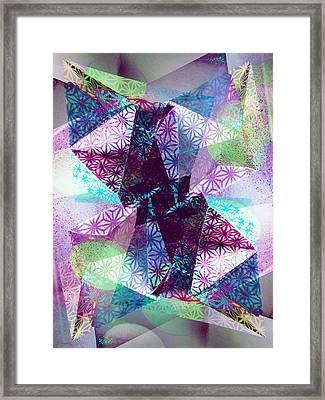 Prismatic Vision Framed Print