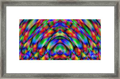 Prisms 339 Abstract Framed Print by Rolf Bertram