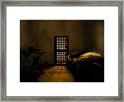Prison Framed Print by Svetlana Sewell