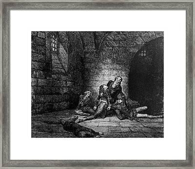Prison Woes Framed Print by Douglas Barnett