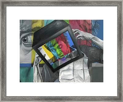 Prisoner Of Context Framed Print by Ryan Babcock
