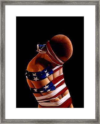 Prisoner Of War Framed Print by Philip Straub