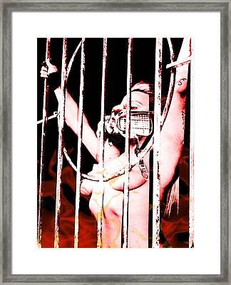 Prisoner Framed Print by Tbone Oliver