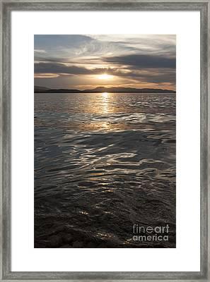 Pristine Waters Framed Print by Carolyn Brown