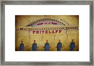 Pritzlaff Framed Print