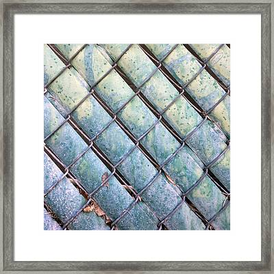 Privacy Chain Framed Print