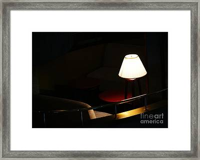 Private Affair Framed Print