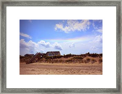 Private Beach Framed Print by JAMART Photography