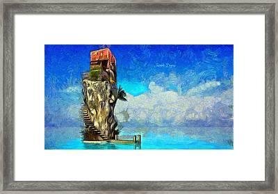 Private Island - Da Framed Print