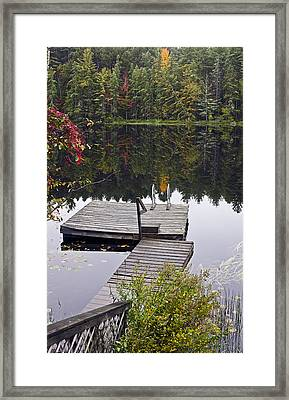 Private Launch Framed Print by Brendan Reals