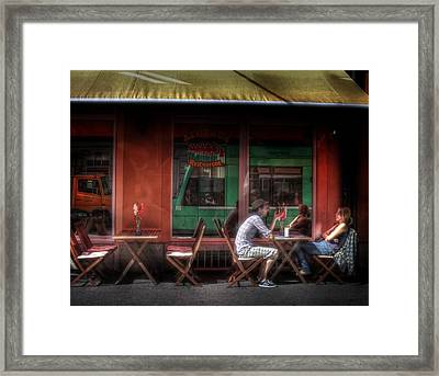 Private Moment Framed Print