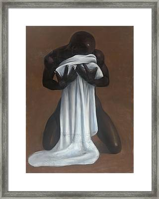 Private Passion Framed Print by L Cooper