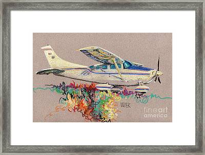 Private Plane Framed Print