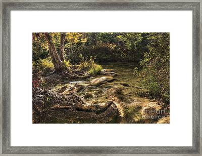 Framed Print featuring the photograph Private Retreat by Tamyra Ayles