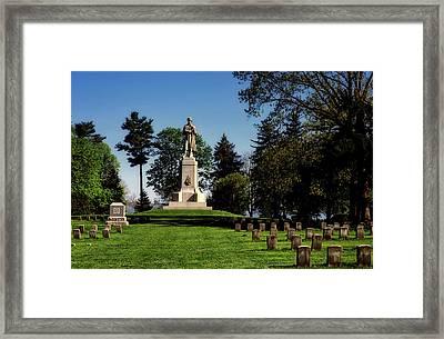 Private Soldier Monument - Antietam Framed Print