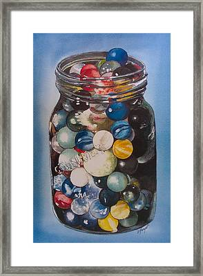Prized Collection Framed Print by Victoria Heryet