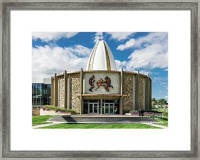 Pro Football Hall Of Fame Framed Print by John Greim