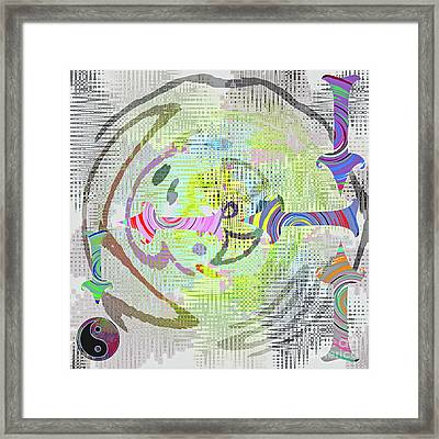 Process Framed Print by Gwyn Newcombe