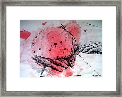 Process Of Inspiration Framed Print by Paulo Zerbato