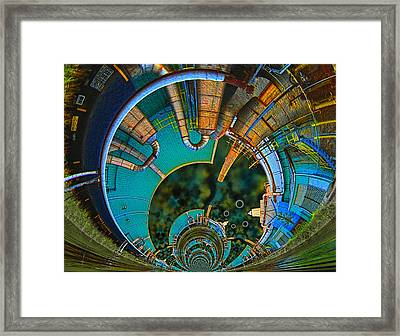 Processing Point 1 Framed Print by Wendy J St Christopher