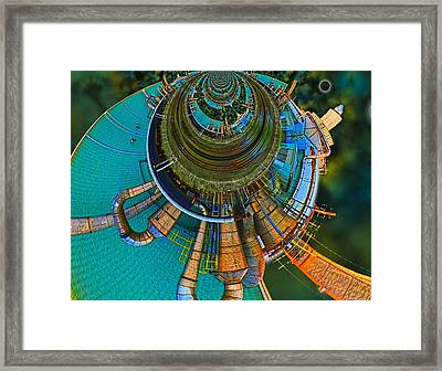 Processing Point 2 Framed Print by Wendy J St Christopher