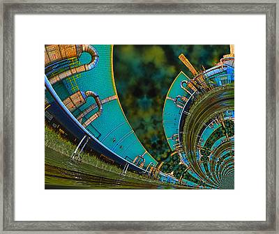 Processing Point 3 Framed Print by Wendy J St Christopher