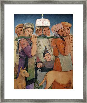 Procession Framed Print by Paula Wittner
