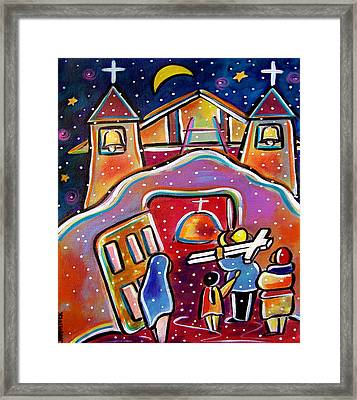 Procession To Chimayo Framed Print