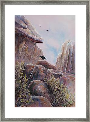 Processional Framed Print by Don Trout